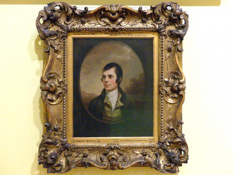 Alexander Nasmyth: Robert Burns (1759-1796), um 1787
