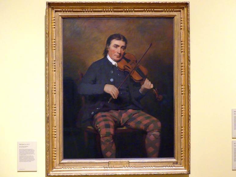 Henry Raeburn: Niel Gow (1727-1807), 1787