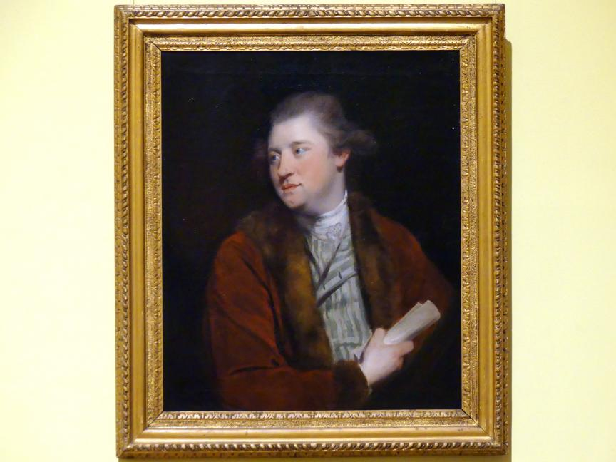 Joshua Reynolds (Nachahmer): James Macpherson (1736-1796), um 1775