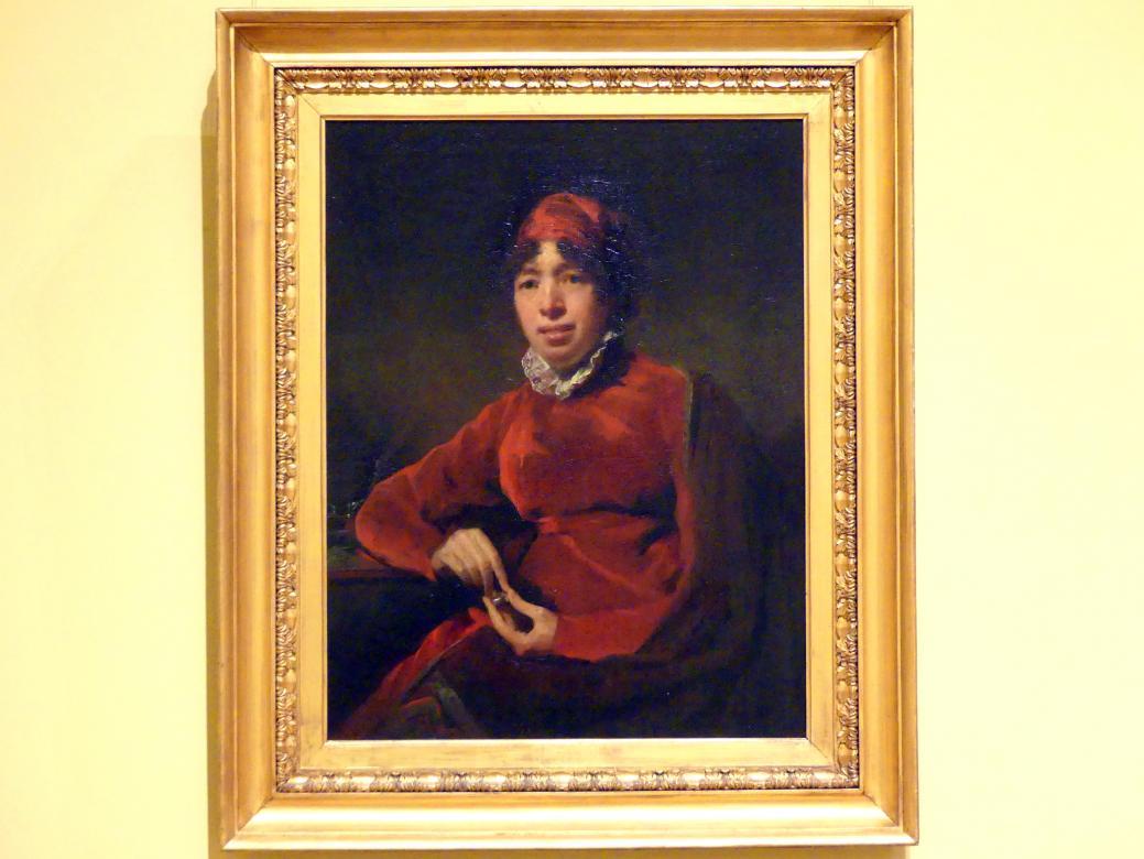 Henry Raeburn: Elizabeth Hamilton (1757-1816), um 1812