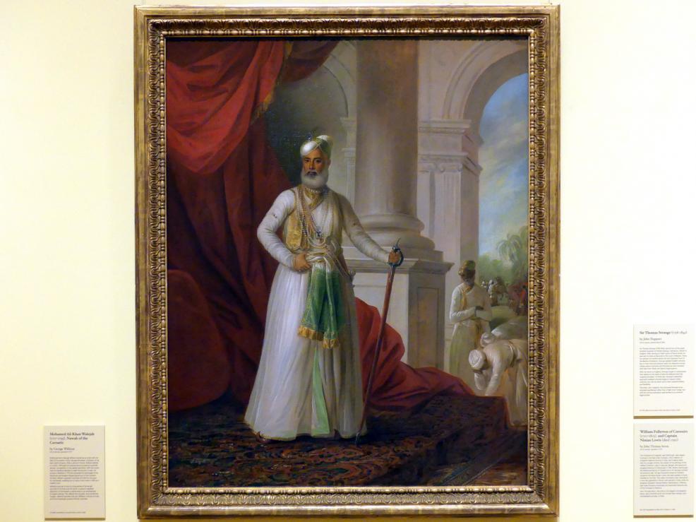 George Willison: Mohamed Ali Khan Walejah (1717-1795), Nawab von Karnatik, 1777