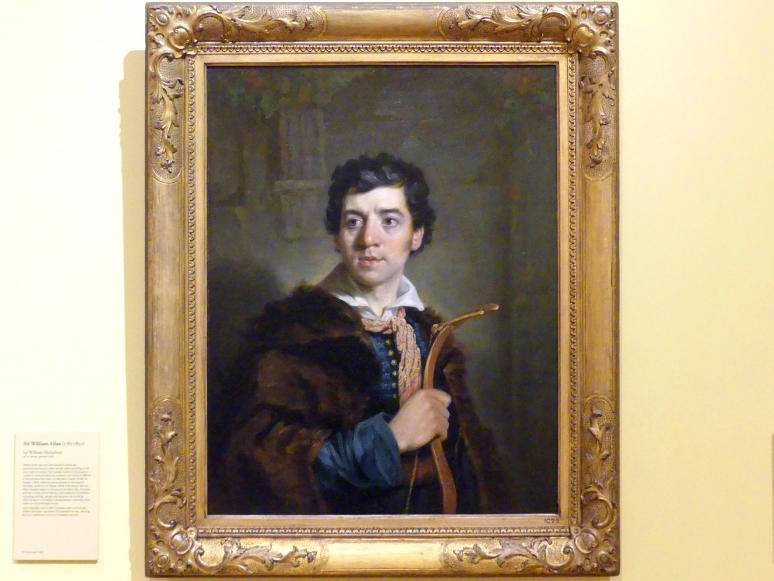 William Nicholson: Sir William Allan (1782-1850), 1818