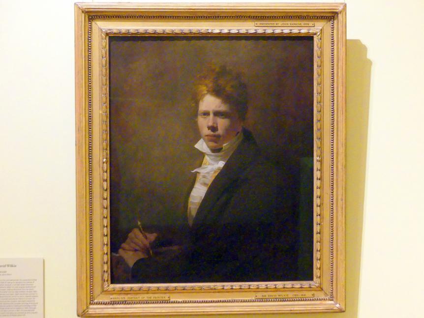 David Wilkie: Selbstporträt, um 1804 - 1805