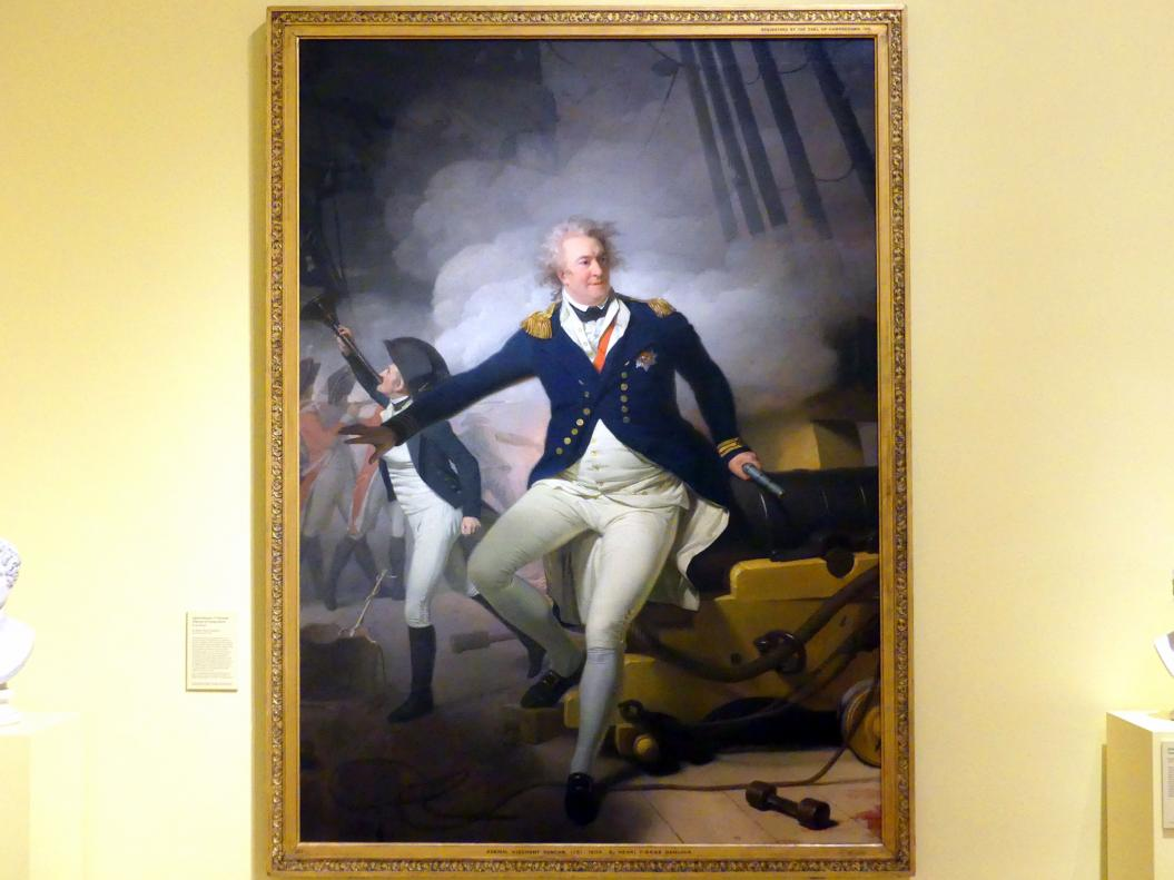 Henri-Pierre Danloux: Adam Duncan, 1. Viscount Duncan von Camperduin (1731-1804), 1798