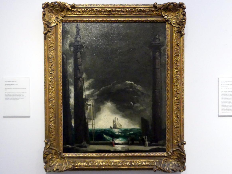 James Pryde: Ein alter Hafen, um 1923
