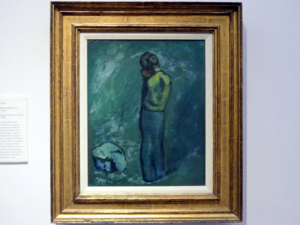 Pablo Picasso: Mère et enfant (Mutter und Kind), 1902