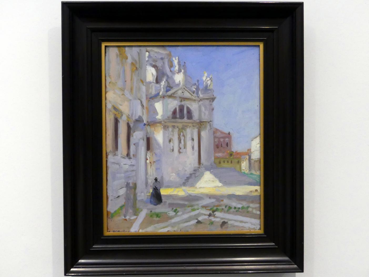 Francis Campbell Boileau Cadell: Blick auf Santa Maria della Salute in Venedig, 1910