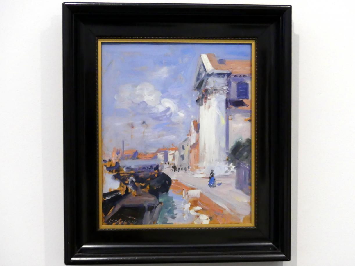 Francis Campbell Boileau Cadell: Am Canale in Venedig, 1910