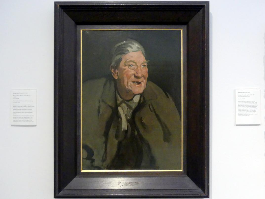 Samuel John Peploe: Lachender Mann (Bildnis Tom Morris), um 1902