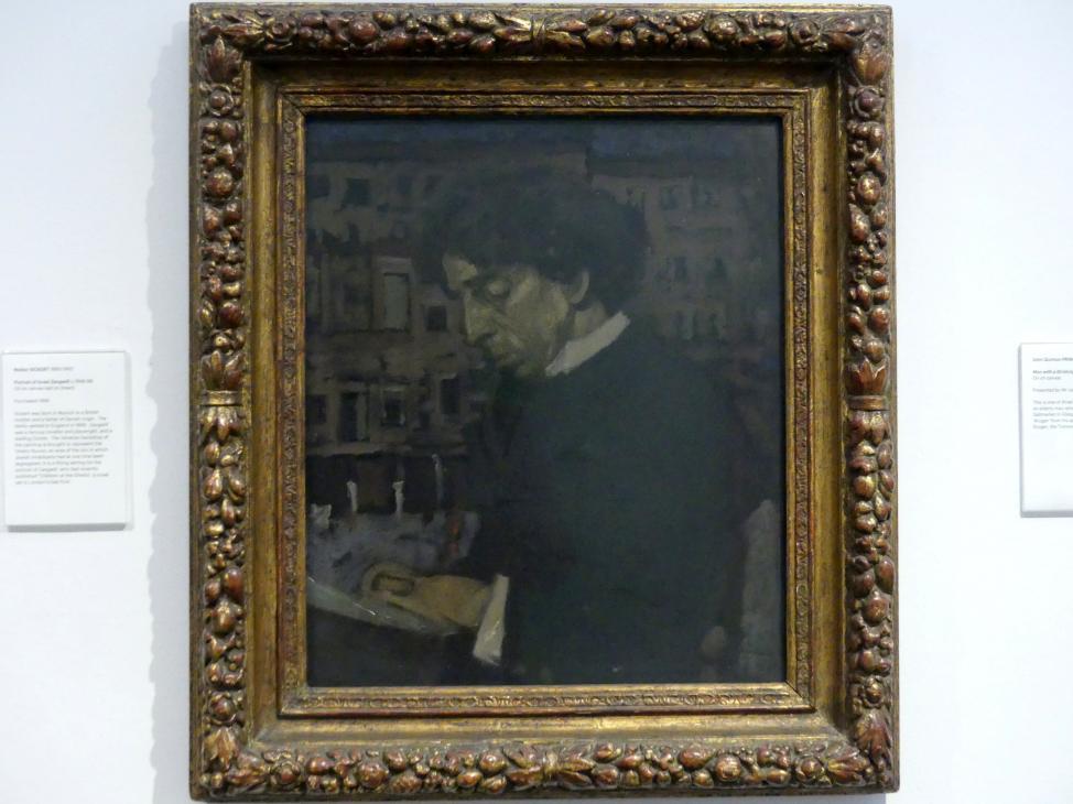 Walter Richard Sickert: Bildnis Israel Zangwill, um 1896 - 1898
