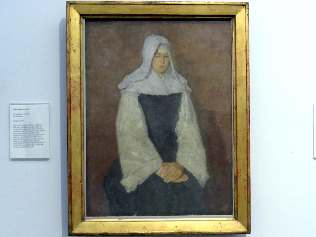 Gwen John (Gwendolen Mary John): Junge Nonne, um 1915 - 1925