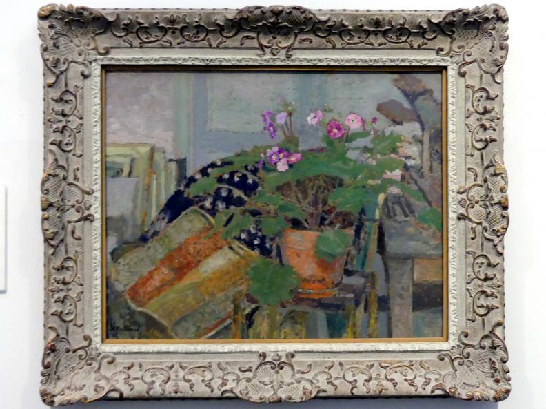 Édouard Vuillard: Le Pot de Fleurs (Blumentopf oder Zimmerecke), um 1904