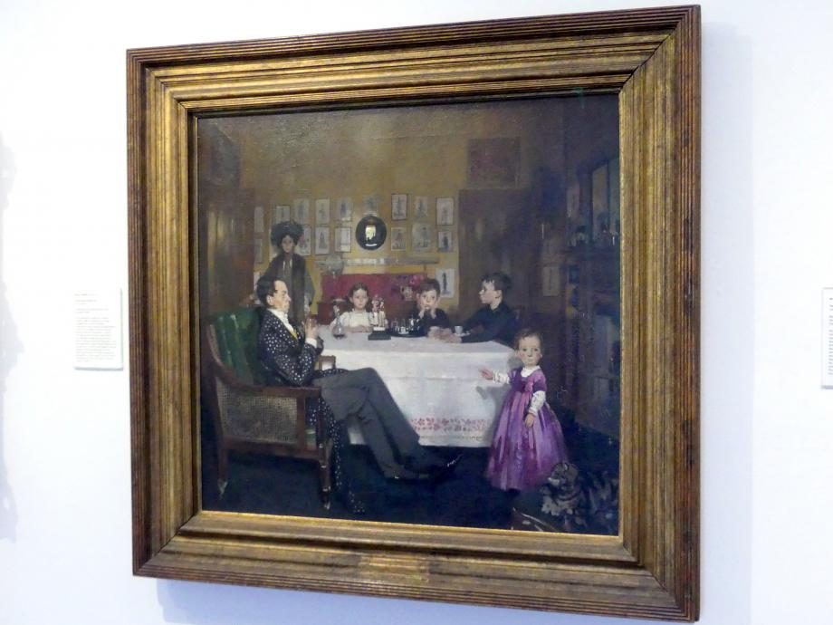 William Orpen: Eine Bloomsbury Familie, 1907