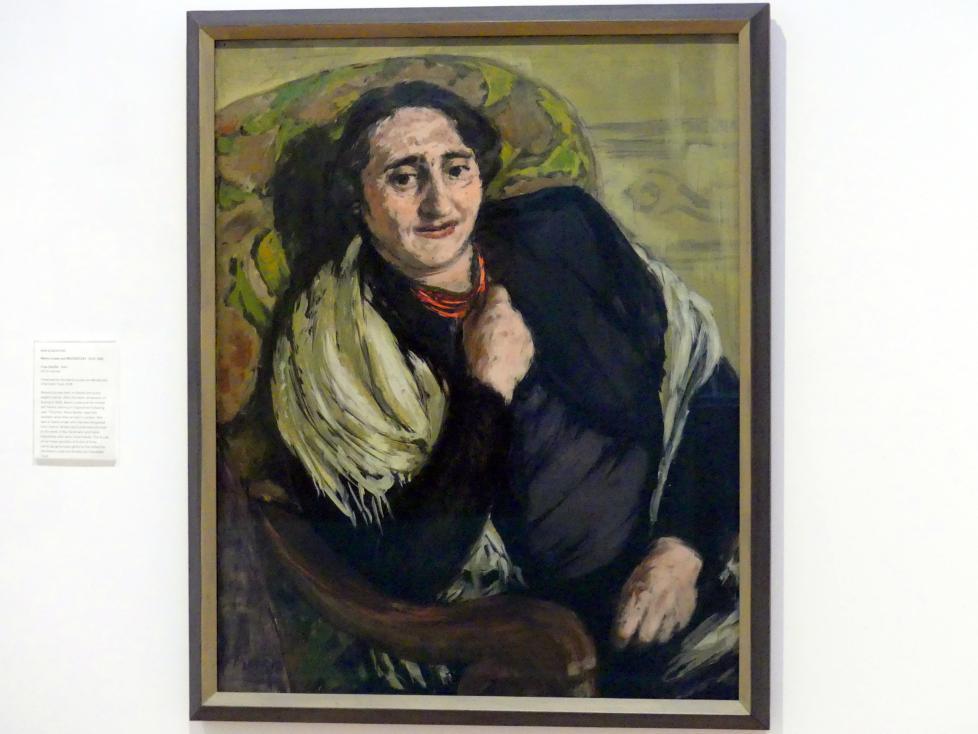 Marie-Louise von Motesiczky: Frau Seidler, 1940