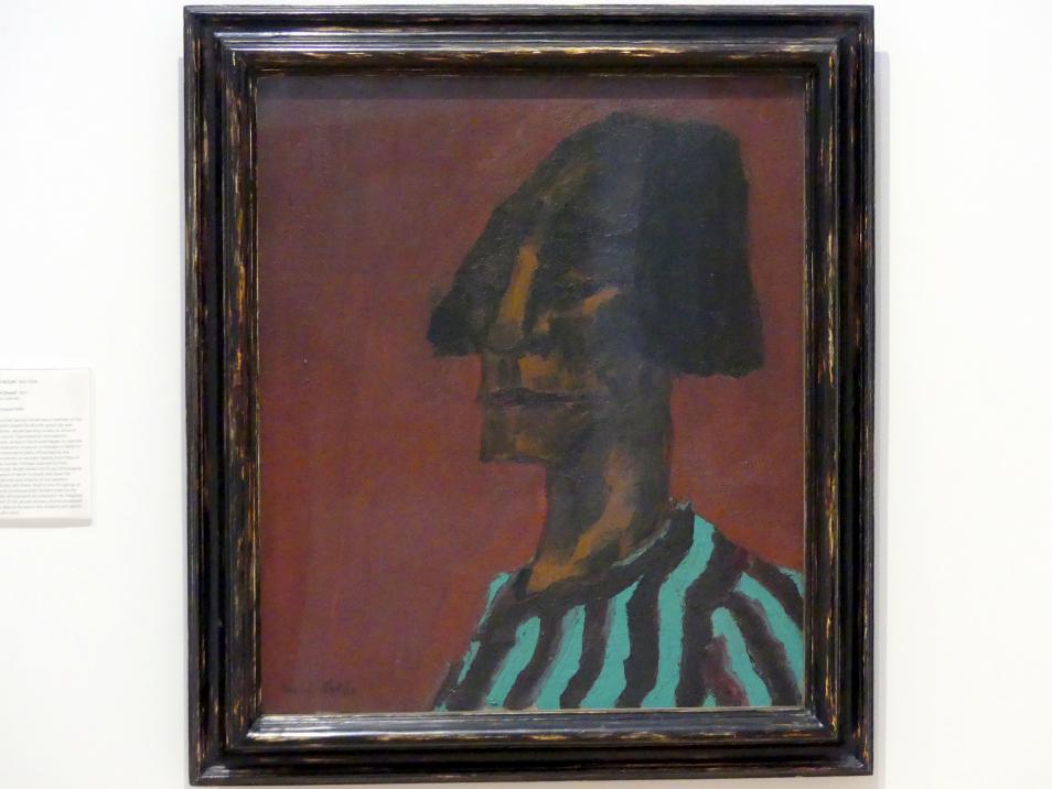 Emil Nolde: Kopf, 1913
