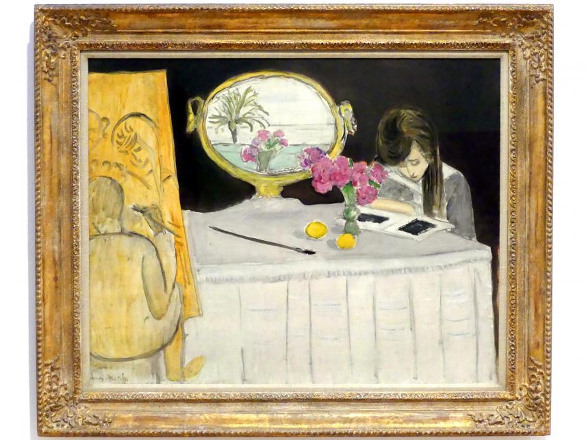 Henri Matisse: Die Malstunde, 1919