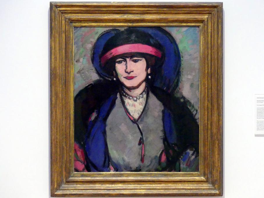 John Duncan Fergusson: Porträt Anne Estelle Rice, 1908