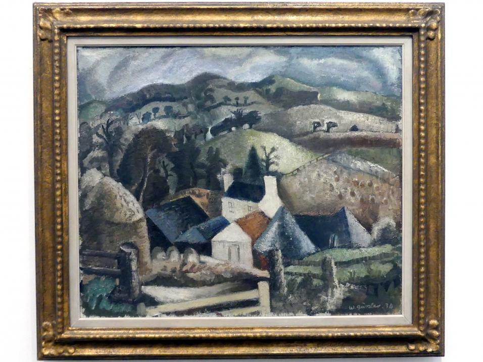 William Geissler: Bergbauernhof, 1934