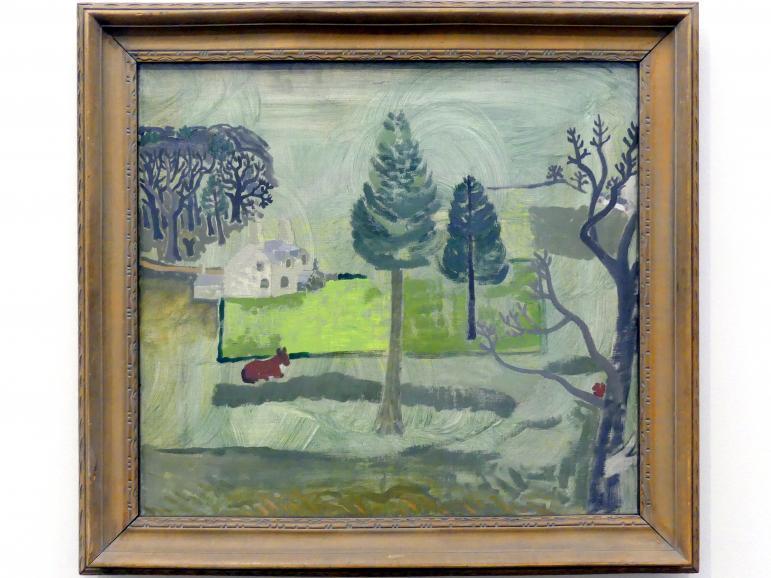 Ben Nicholson: Walton Waldhütte Nr. 1, 1928, Bild 1/2