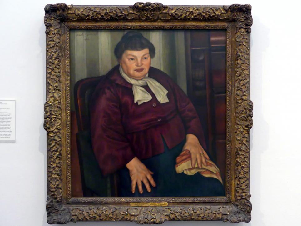 Mark Gertler: Porträt der Mutter des Künstlers, 1924