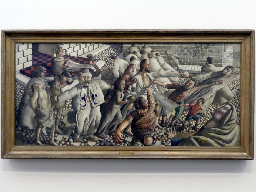 Stanley Spencer: Christus wird der Menge ausgeliefert, 1950