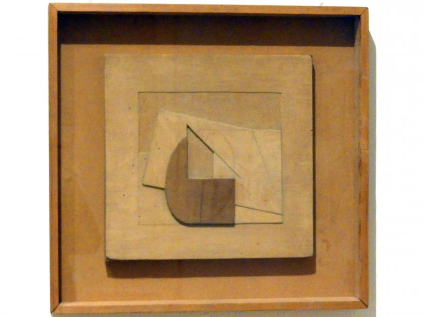 Margaret Mellis: Reliefkonstruktion aus Holz, 1941