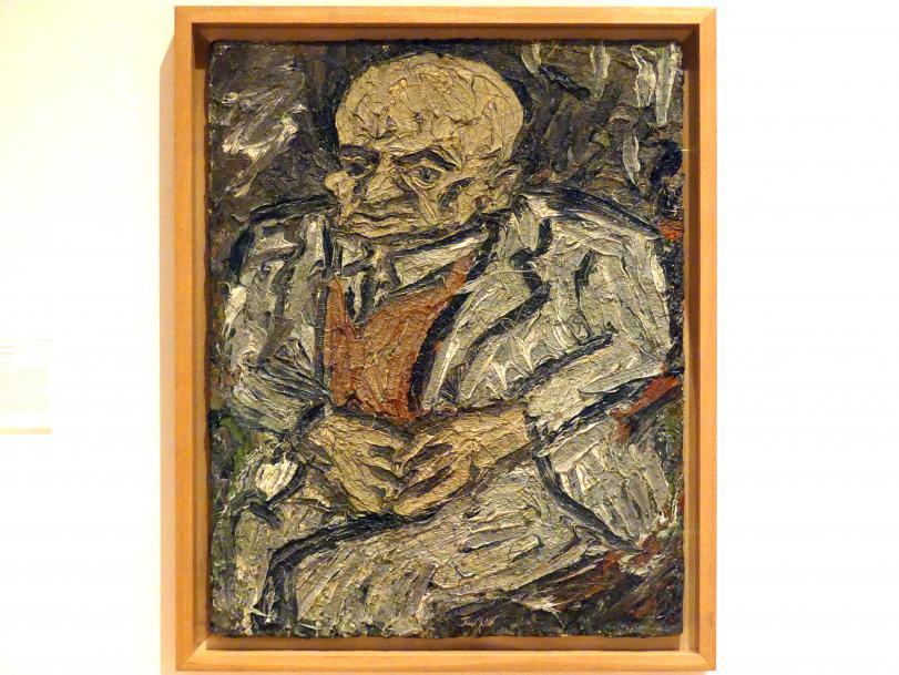 Leon Kossoff: Porträt des Vaters, 1978