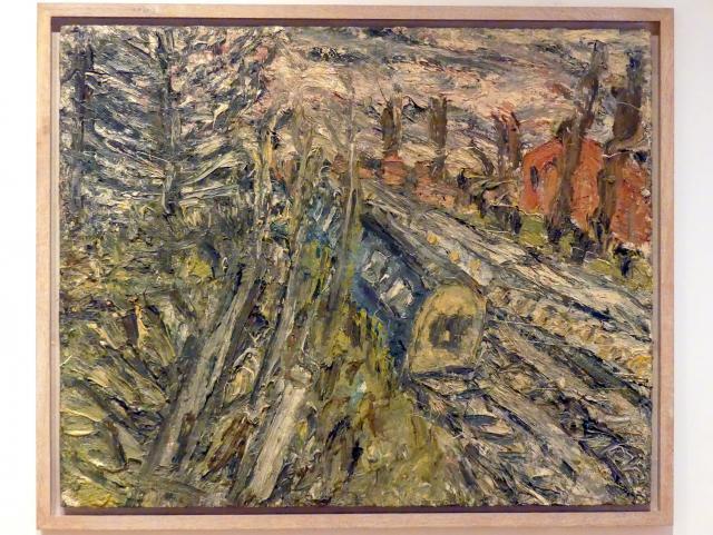 Leon Kossoff: Zwischen Kilburn und Willesden Green, Winterabend, 1992