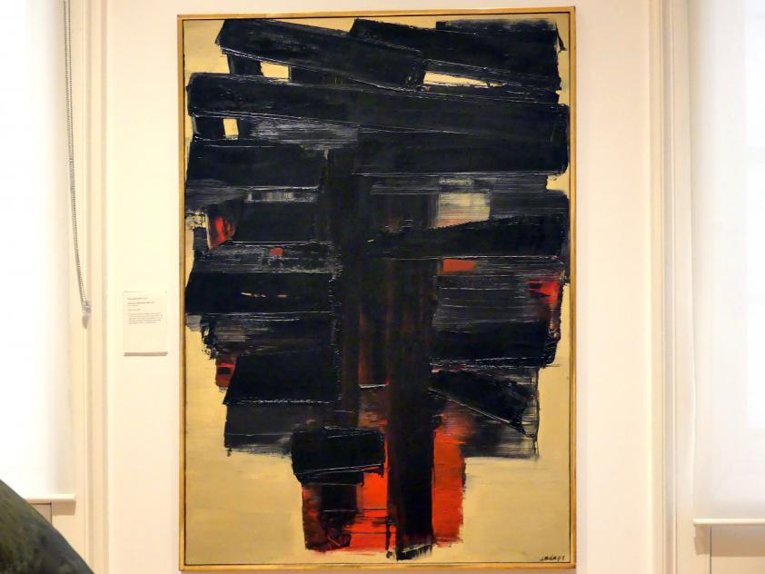 Pierre Soulages: Gemälde 3. November 1958, 1958