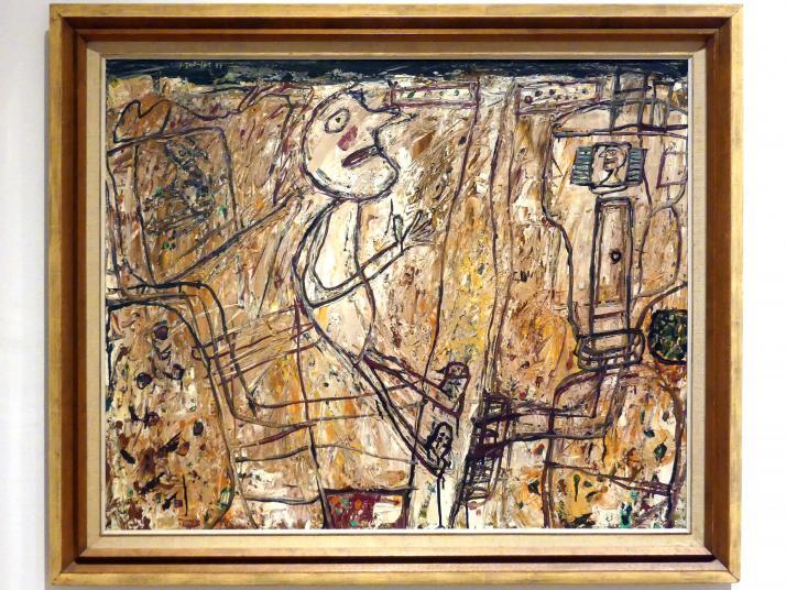 Jean Dubuffet: Villa sur la route (Villa auf der Straße), 1957