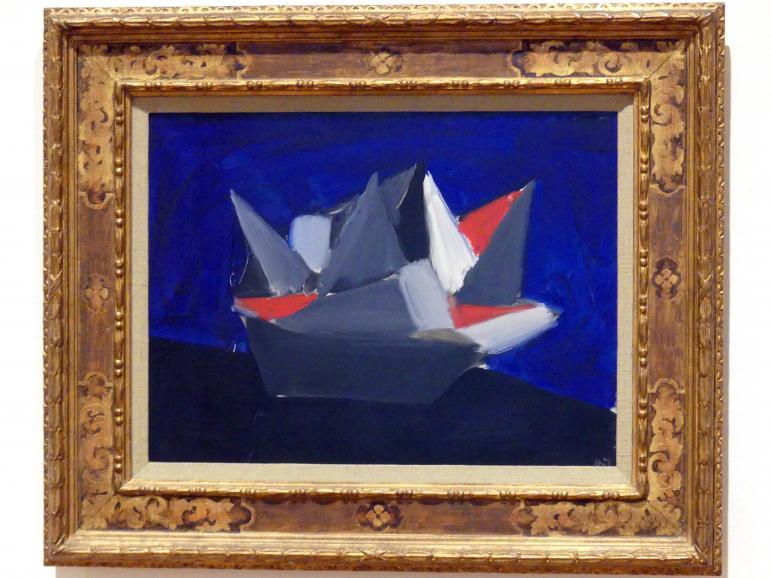 Nicolas de Staël: Le Bateau (Das Boot), 1954