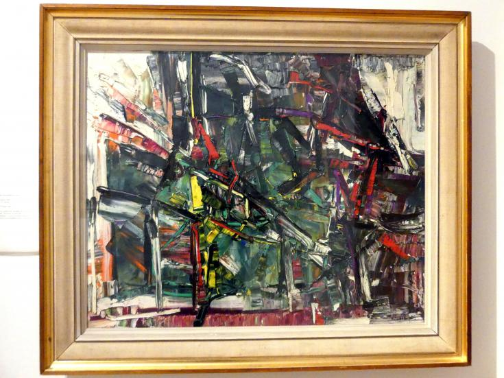 Jean-Paul Riopelle: Ventoux, 1958