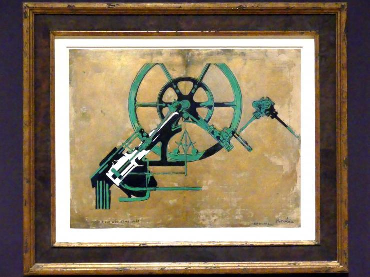 Francis Picabia: Mädchen ohne Mutter geboren, um 1916 - 1917