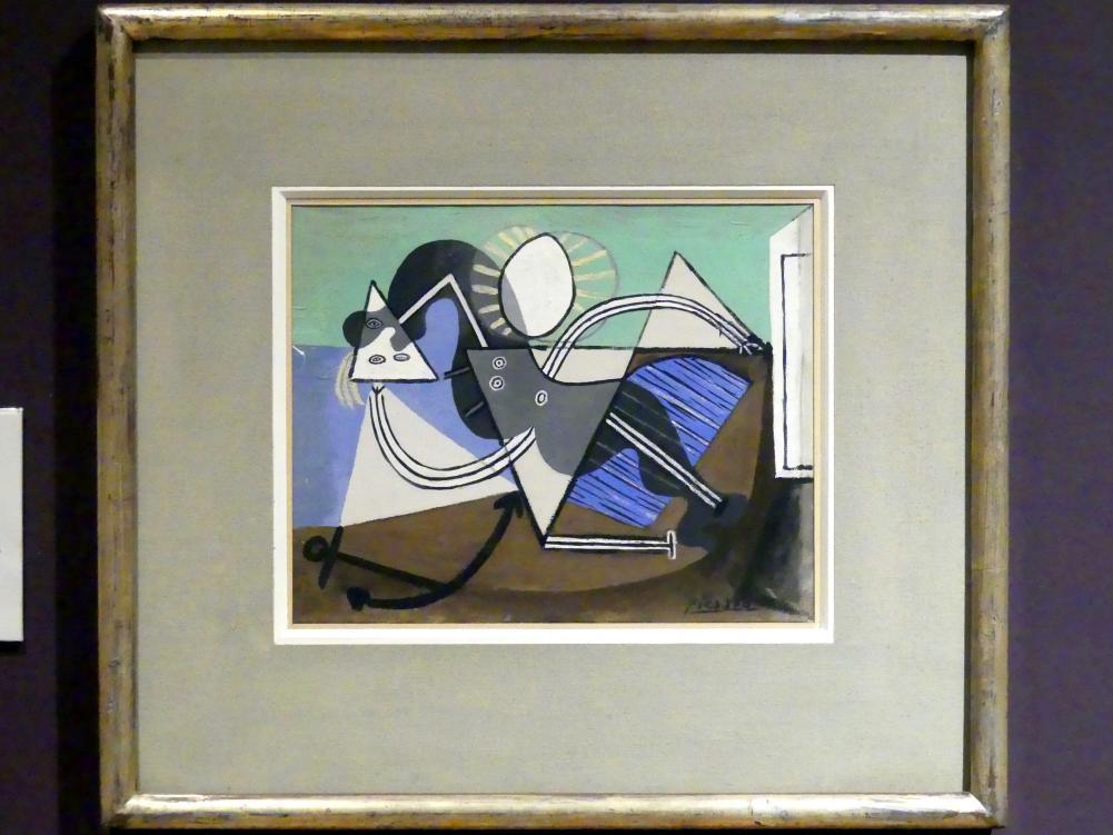 Pablo Picasso: Nackte Frau am Strand in der Sonne liegend, 1932