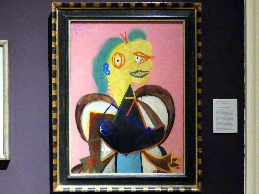 Pablo Picasso: Porträt Lee Miller, 1937