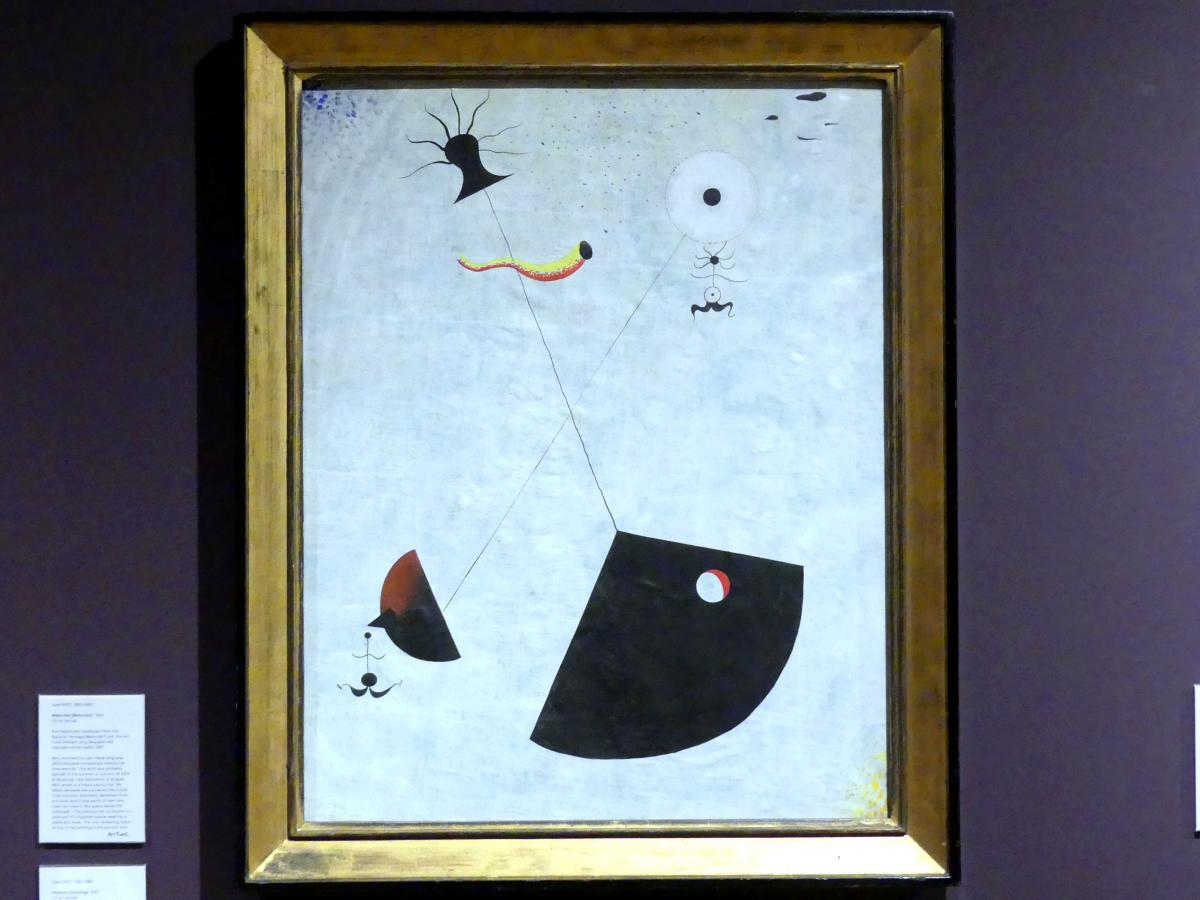 Joan Miró: Mutterschaft, 1924