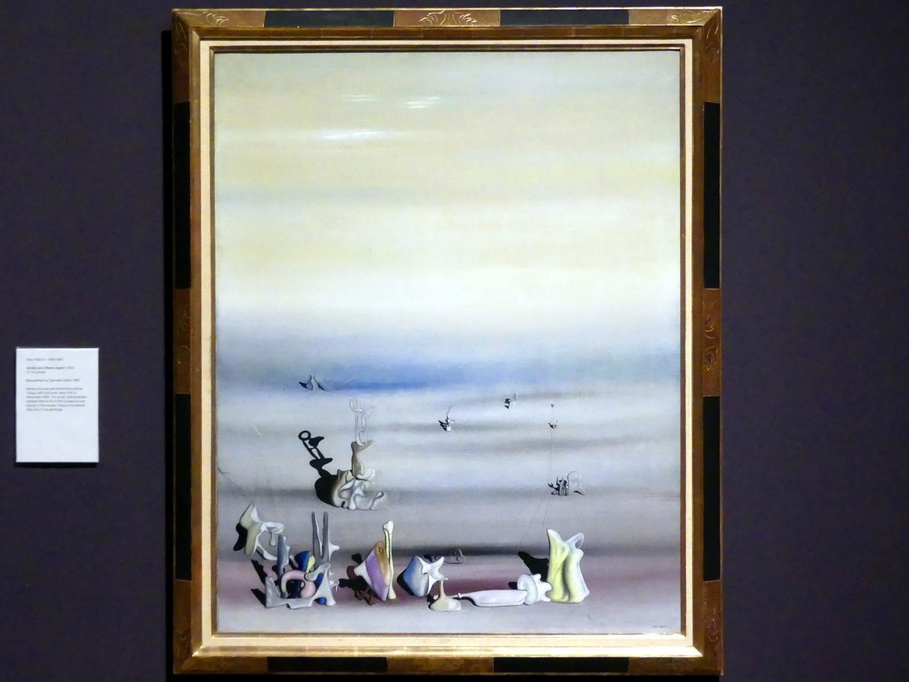 Yves Tanguy: Nie wieder, 1939