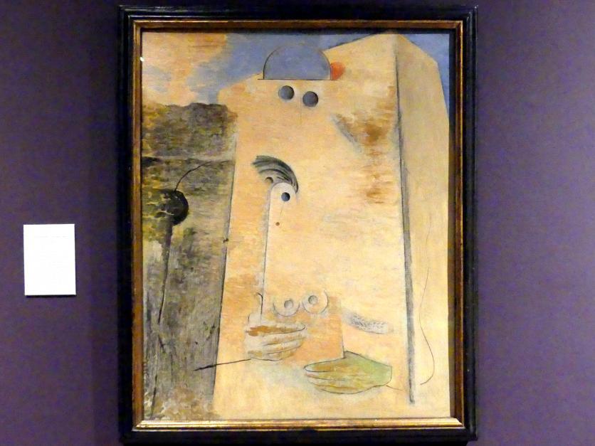 Max Ernst: Der große Liebhaber I, 1926