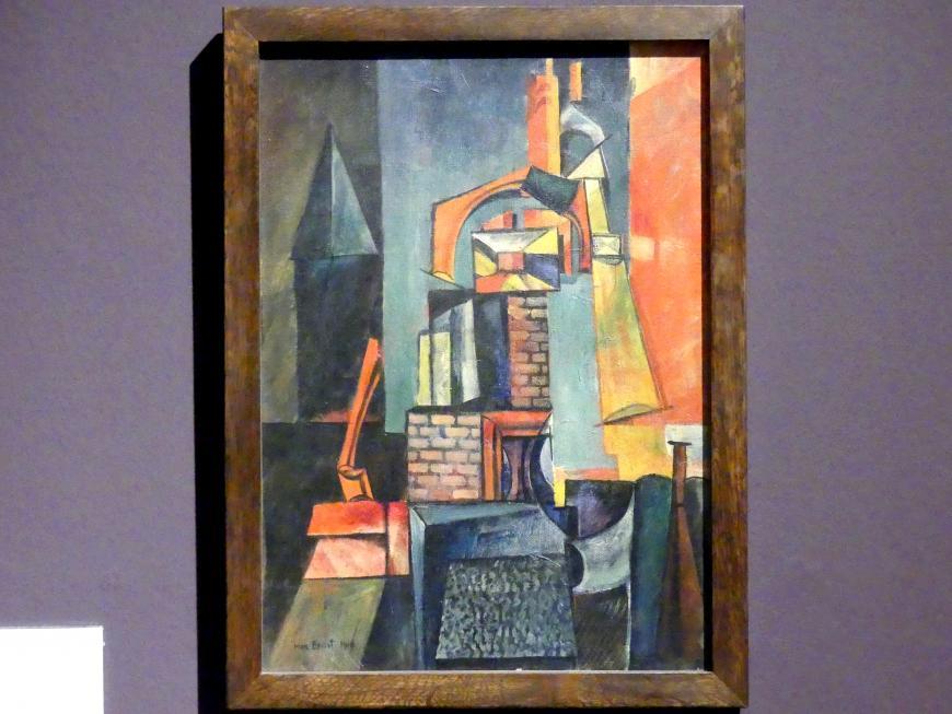 Max Ernst: Türme, 1916