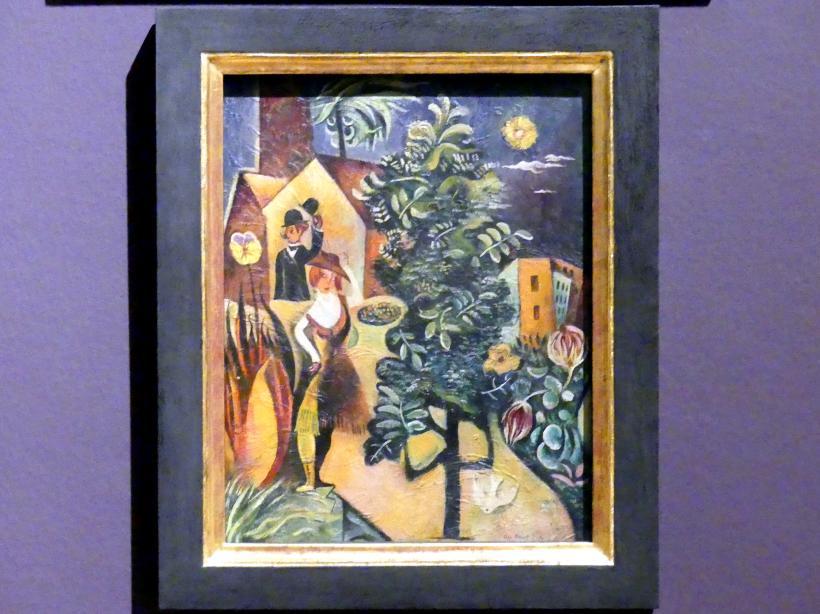 Max Ernst: Hut in der Hand, Hut auf dem Kopf, um 1919
