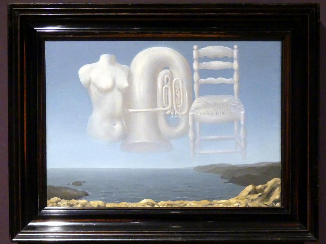 René Magritte: Bedrohliches Wetter, 1929
