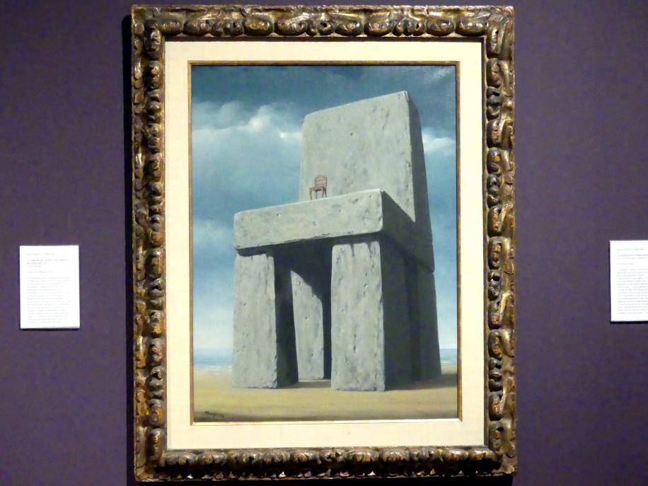 René Magritte: Die Legende der Jahrhunderte, 1950