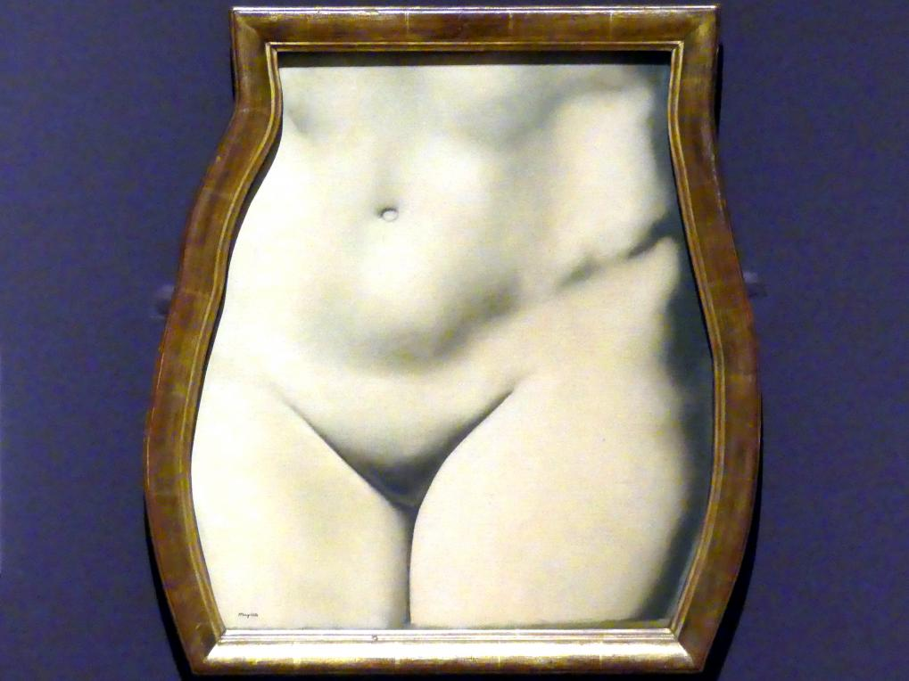 René Magritte: Repräsentation, 1937