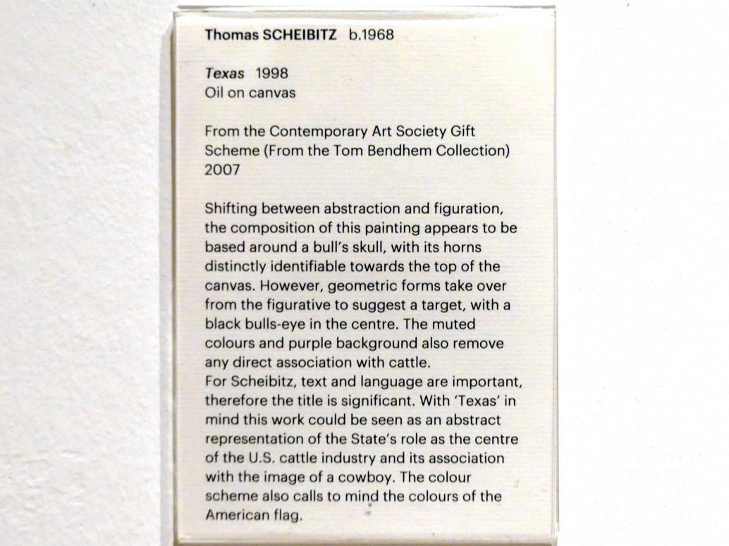 Thomas Scheibitz: Texas, 1998, Bild 2/2
