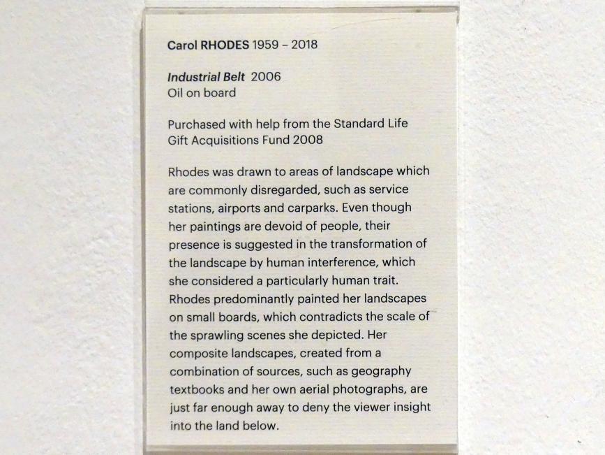 Carol Rhodes: Industriegürtel, 2006, Bild 2/2
