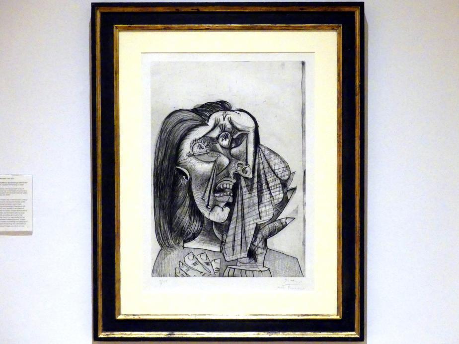 Pablo Picasso: Weinende Frau, 1937