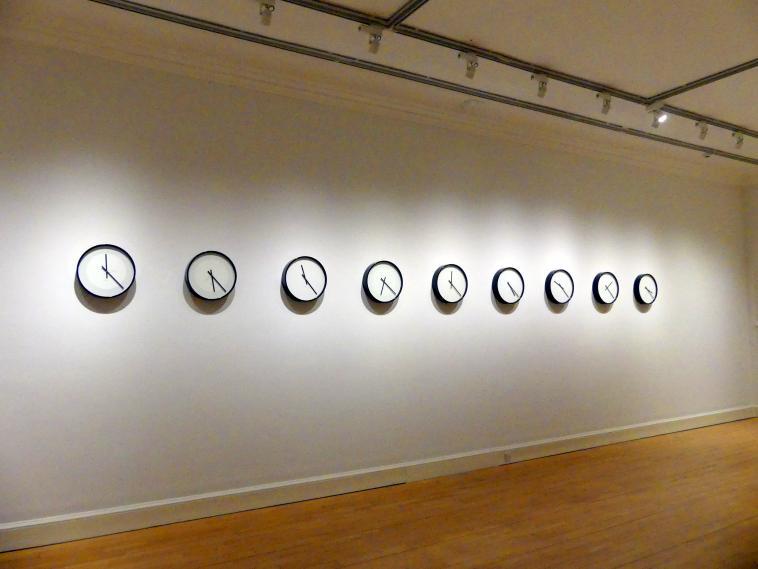 Katie Paterson: Zeitmesser (Sonnensystem), 2014