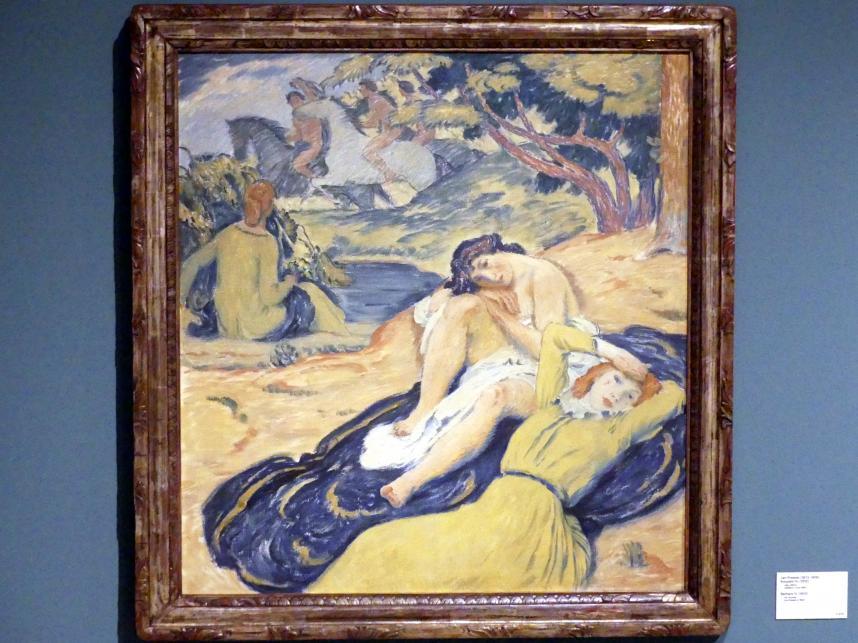 Jan Preisler: Die Badenden IV, 1912