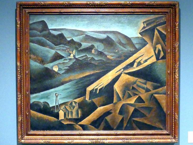 Bohumil Kubišta: Steinbruch in Branik, 1910 - 1911