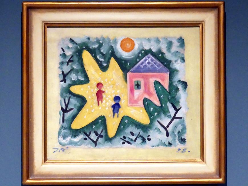 Josef Čapek: Kinder im Garten, 1928
